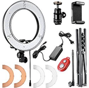 neewer ring light instructions